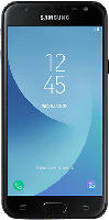 Smartphones - SAMSUNG Galaxy J3 (2017) Duos 16 GB Schwarz Dual SIM