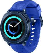 Smartwatches - SAMSUNG  Gear Sport Smartwatch Silikon, S, L, Blau