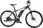 FAHRRAD - Pedelec - FISCHER - FAHRRAD EM 1724-S1 Mountainbike (29 Zoll, 51 cm, Trapez, 422 Wh, Schwarz matt)