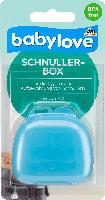 babylove Schnullerbox blau
