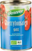 Dennree Cherrytomaten ganz 400g Dose