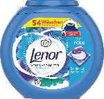 Lenor Vollwaschmittel 3in1 PODS Weiße Wasserlilie