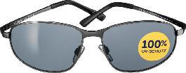 SUNDANCE Sonnenbrille für Erwachsene verspiegelt schwarz-silber nOeVDj