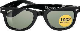 SUNDANCE Sonnenbrille für Erwachsene verspiegelt schwarz-silber t5NUj