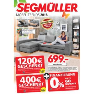Segmüller Prospekt ⇒ Aktuelle Angebote Juni 2018 - mydealz.de
