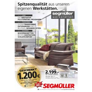 Segmüller Prospekt ⇒ Aktuelle Angebote Juli 2018 - mydealz.de