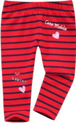 Baby Leggings mit Streifen und Print