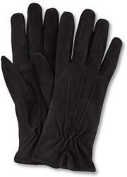 Veloursleder-Handschuhe