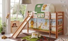 Etagenbett Lupo Mit Rutsche : Ticaa etagenbett mit rutsche lupo buche massiv weiß motiv küche