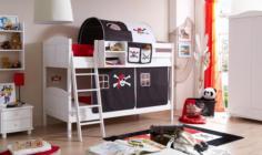 Ticaa Etagenbett Pirat : Buche massiv etagenbetten online kaufen möbel suchmaschine