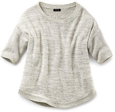 Damen-Halbarm-Pullover