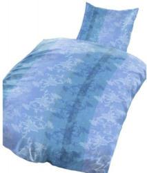 Microfaser Bettwäsche Ranke blau