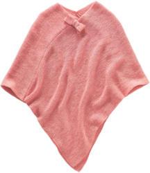 Mädchen Poncho mit Zierschleife