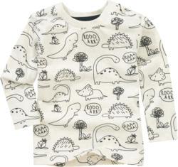 Baby Langarmshirt mit Dinos