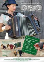 Harmonikazentrum Dexer - Weiz Flugblatt