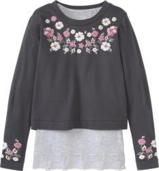Mädchen Cropped-Shirt und Top