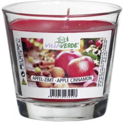 Duftkerze, Apfel-Zimt, ø ca. 9 cm, ca. 8 cm hoch
