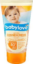 babylove Sonnencreme Sensitiv LSF 50+