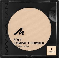 MANHATTAN Cosmetics Gesichtspuder Soft Compact Powder Naturelle 01