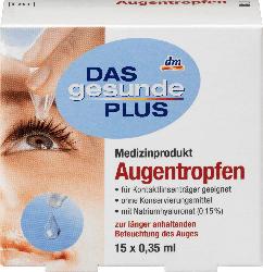 DAS gesunde PLUS Augentropfen 15 Ampullen à 0,35 ml