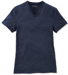 T-Shirt, dunkelblau