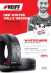 REIFF Reifen Der Winter will's wissen - bis 02.12.2018