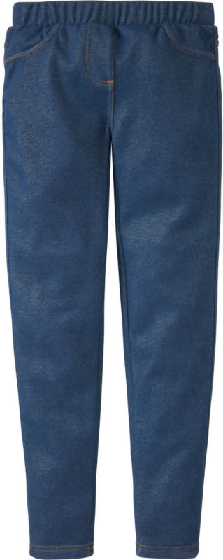 Mädchen Thermo-Jeggings im Denim-Style