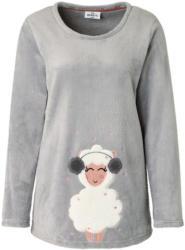 Damen Fleecepullover mit Schaf-Applikation