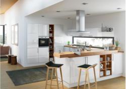 Moderne U-Küche