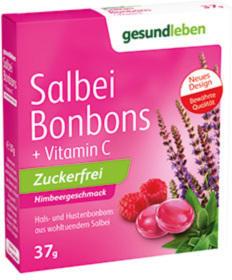 Salbei-Bonbons zuckerfrei Himbeergeschmack 37 g