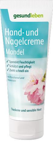 Hand- und Nagelcreme Mandel 75 ml