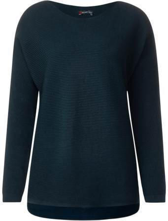 Pullover mit Ripp-Struktur