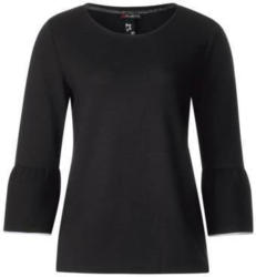 Strukturiertes Volant Shirt