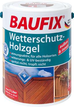 BAUFIX Wetterschutz Holzgel Kiefer