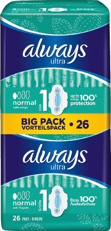 always Ultra Binde Normal Plus Vorteilspack