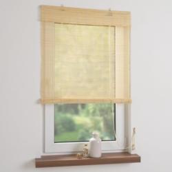 Bella Casa Bambusrollo, Rollo 240 x 90 cm, natur