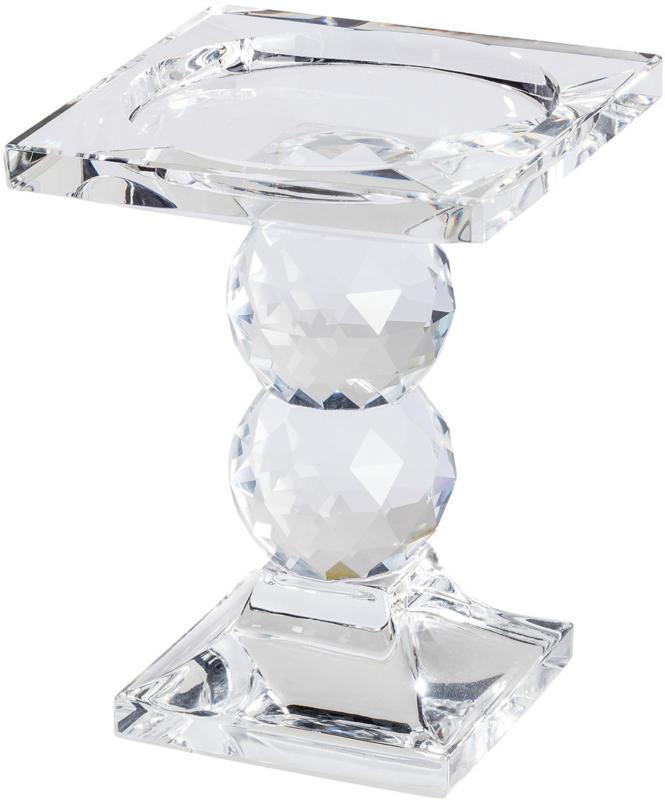 Großer Kerzenleuchter in Kristall-Optik (Nur online)