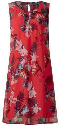 Modisches Print Kleid