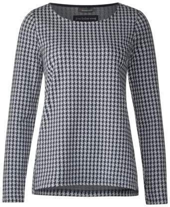 Hahnentritt Muster Shirt