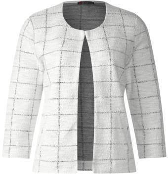 Jacke in modischer Struktur