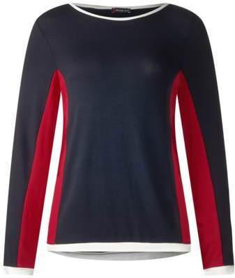 Weiches Color-Block Shirt