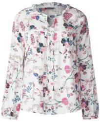Tunika-Bluse mit Flowerprint