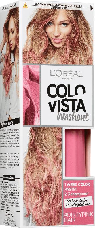 L'Oréal Colovista Wash out #DIRTYPINK