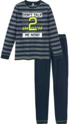 Jungen Schlafanzug mit Zahlen-Print