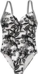 Damen Badeanzug mit Blumen-Print