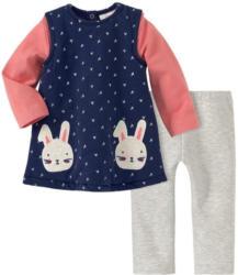 Newborn Kleid, Langarmshirt und Sweatleggings