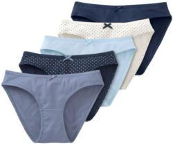 5 Damen Slips