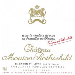 Chateau Mouton Rothschild 2001
