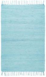 Fleckerlteppich Julia in Blau, ca. 70x230cm