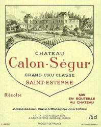 Chateau Calon Segur 2015